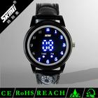 Unique creative ladies silicone led watch
