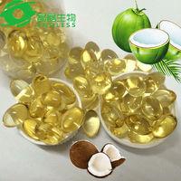 slim light pills virgin coconut oil capsule