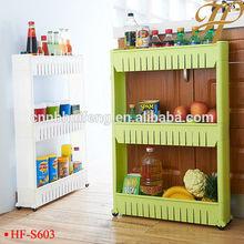 PP bathroom kitchen organizer shelf corner storage rack