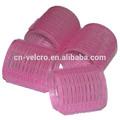 pink jumbo velcro rolo de cabelo