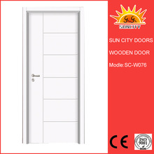 China prefinished solid wooden door SC-W076