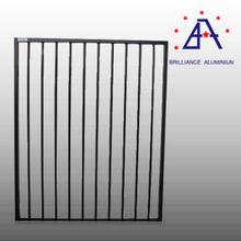 Brilliance aluminium profile glass fence