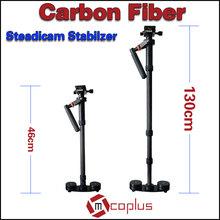 Mcoplus 46cm-130cm Carbon Fiber Stabilizer Steadicam for Camera Camcorder Video Shooting