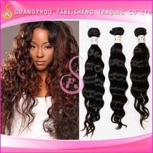 Hot !!! Top grade 5A virgin brazilian hair extension salon hair extension