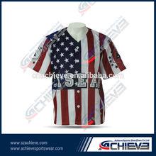 Best selling softball shirts custom baseball uniform