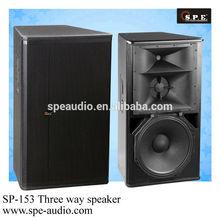 SPE audio three way passive speaker, top quality, good sound powerful audio