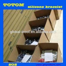 POP oem eco-friendly silicone power energy bracelet