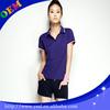plain dry fit polo shirts women high quality cotton design