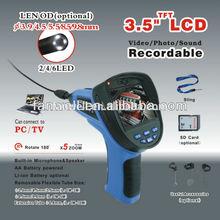 3.5inch borescope camera 5mm flexible snake scope borescope camera with 3.9MM tube len's