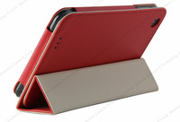 China manufacturer folio cover leather case for lenovo a3000