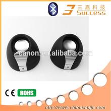 2014 Two hamburger pairs china stereo hifi bluetooth speaker phone