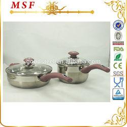MSF-3040 popular in Korea cookware set(The serpentine handle)