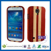 Good impression wood cover skin for samsung galaxy s4 active