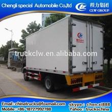 Best quality durable foton mini refrigerated van trucks