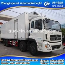 Bottom price hot sale refrigerated cargo trucks
