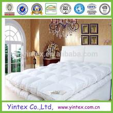 Professional mattress and mattress topper manufacturer polyester queen sized mattress pad