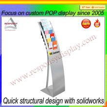 custom vertical lcd panel stand advertising display