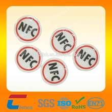 Passive Ntag 203 NFC Sticker 13.56mhz Rfid ISO 14443 Tag