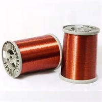 Good Quality enamel copper clad aluminum wire lacquered copper wire