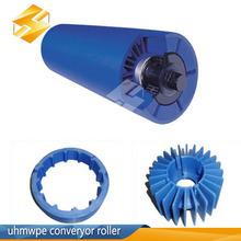 wear resisant pe roller uhmwpe conveyor roller wheel