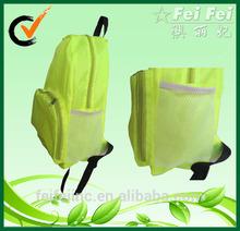 Fashion Foldable Polyester Backpack with Bottle Pocket