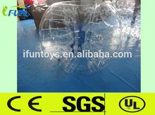 2014 Brasil World cup bumper football/soccer bubble ball for sale
