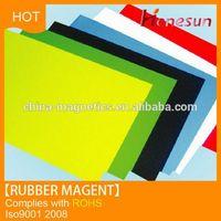 Flexible Rubber Magnetic Strips Fridge Magnet Material