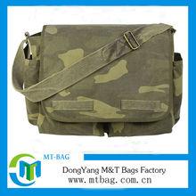 2014 hot sale heavy duty canvas shoulder bag military messenger bag