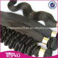 Caliente venta más vendidos barato de la virgen brasileña del pelo de remy extensiones de cabello