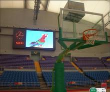 High resolution football stadium perimeter led screen display