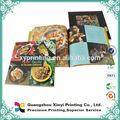 Alta qualidade de impressão de revistas, livro de capa dura, livro de capa mole na china