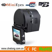 2014 Newest Hidden 1.5 Inch LCD GPS External Support Webcam car dvr camera simple installation