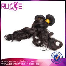 Hot trends full cuticle black women hair style 2015 factory price virgin peruvian hair extension