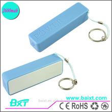 Lower Price 5V Mini Blue 2600mah Manual Battery Pack Portable For Power Bank Mobiles