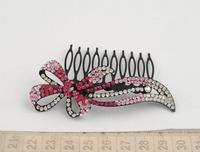 Bow hair combs hair jewelry
