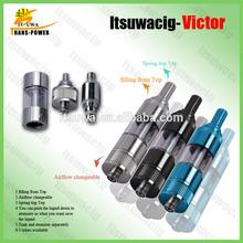 China wholesale inovated patented e- cigarette e- cigarette Itsuwa victor Protank