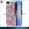 Fashion Elegant design Rhinestone shiny Diamond Bling Bling case for iPhone 5 5S
