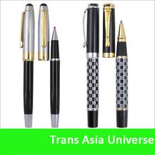 Top quality custom chrome finish metal pens