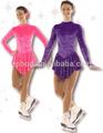2014 nuevo diseño de desgaste de la danza/trajes de baile/patín de hielo vestidos/disfraces de formación eped- 012