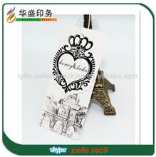 China wholesale custom hang tags for clothing