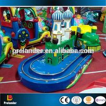 indoor playground mini track train kids games