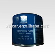 Oil Filter 26300-35056 for Hyundai Santa FE/H100/Grace