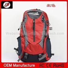 2014 latest model fashion design sport leisure Popular cheap school man hiking bag