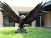 Big Size Bronze Eagle Sculpture Home Decoration Garden Decoration