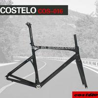2014 light weight Carbon fiber Road bike bicycle frame&fork cos016 size 50 53 55 57