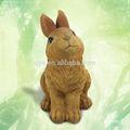 resina animal figura de coelho jardim ornamento