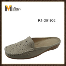 Minyo hot selling women softer slippers wholesale mules in China