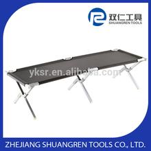 Hot selling Premium folding camping cot -Aluminum 2thickness