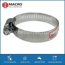 Higher Sealing Pressure American Type Hose Clamp