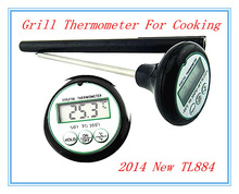 Modern pace high quality digital grill thermometer for cooking on outdoor picnic TL884